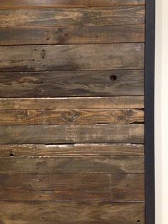 Truly reclaimed wood from GOATGEAR Interior Sliding Barn Doors, Hardwood Floors, Hardware, Texture, Canada, Decorating, Design, Wood Floor Tiles, Surface Finish
