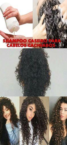 SHAMPOO CASEIRO PARA CABELOS CACHEADOS: ALTAMENTE HIDRATANTE #cabelo #shampoo #caseiro
