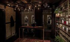 Crime Passionnel niche perfume boutique interior design. Nishane Istanbul, Sauf, Naomi Goodsir, Nasomatto, Orto Parisi, Amouage, Puredistance, Unum, LM Parfums, Jovoy Paris, Parfum d'Empire.