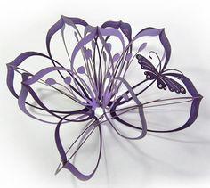 laser cut lamp shade paper butterflies - Google Search
