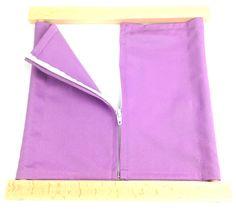 Zipper Dressing Frame Montessori