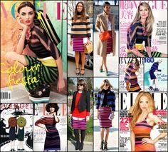 Prada's stripes are in this season...