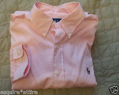 men dress shirt for sale on ebay : Ralph Lauren men dress #shirt 17.5 - 34/35  button-down pink NWT Classic Fit RalphLauren withing our EBAY store at  http://stores.ebay.com/esquirestore
