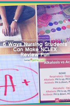 Learning can be fun! 6 unconventional ways to review for the #NCLEX: http://nursetogether.com/make-nclex-review-fun-for-nursing-students
