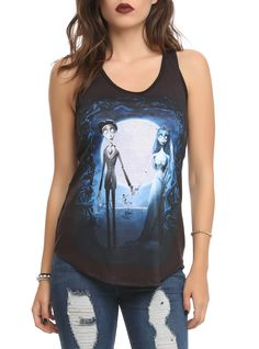 Corpse Bride Girls Tank Top | Hot Topic