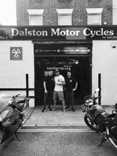"""""""Shout out to my Boys Scott and Ross at Dalston Motorcycles for getting me on the road basic for Venom. My man paddy@ Mutts Motorbikes legend and Paul and ALL Team at TRIUMPH ~ for advanced training and support love to Team Bike Shed and Vikki Little..."""