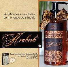 Arabesk Sabonete Gel Concentrado + Sacola