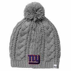 c4ef0a0575f  47 Brand New York Giants Ladies Kiowa Knit Hat – Gray Patriots Afc