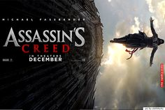 "New Trailer & Poster For ""Assassin's Creed"" Starring Michael Fassbender Assassin's Creed Film, Assassin's Creed Hd, Creed Movie, Assassins Creed, Hollywood Movies Online, Hollywood Action Movies, Video Game Movies, Hd Movies, Michael Fassbender Assassin's Creed"