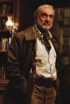 Sean Connery as Allan Quatermain - League of Extraordinary Gentlemen.