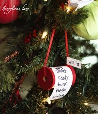 Trim the Tree with This Cute DIY Christmas List Ornament