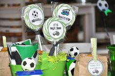 Soccer Party /Football Birthday Party Ideas | Photo 3 of 18