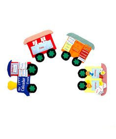 Another great find on #zulily! 'My Calendar Train' Learning Set #zulilyfinds