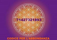 Sequenza numerica, secondo G. Grabovoi, per normalizzare la propria SITUAZIONE FINANZIARIA ( 71427321893 ) è un codice per l'abbondanza portalo sempre con te.