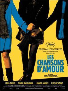 Les Chansons d'amour : affiche Christophe Honoré