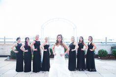 Bridesmaids! Louisville KY October wedding