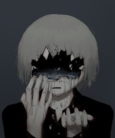 (notitle) – Sad drawings – # Sorry – random pics – art Art And Illustration, Dark Art Illustrations, Dark Anime, Aesthetic Art, Aesthetic Anime, Manga Art, Anime Art, Art Sinistre, Anime Triste