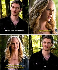 "S5 Ep11 ""500 Years of Solitude"" - Klaus and Caroline"