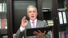"""""""Mi corrupción. Pido permiso para participar en la marcha"""": Uribe"""