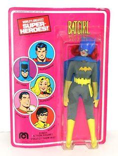 """Vintage 1977 Mego Batgirl 8"""" Action Figure in Original SEALED Packaging RARE   eBay"""