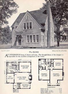 1928 Home Builders Catalog - The Dunn