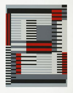 Anni Albers weaving Would make a great rug..