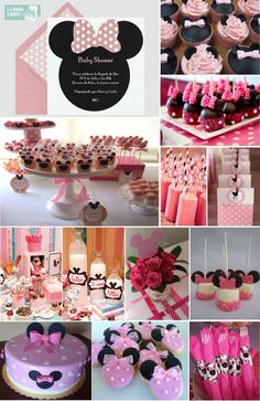 Minnie Mouse babyshower party