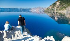 Some of America's greatest authors have waxed rhapsodic over the sight of Crater Lake's blue waters. It's the same view that compels people from all over the world to visit Oregon's most popular national park site each year.