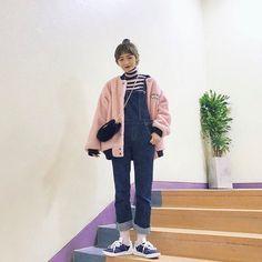 쥬피치(kjiwoo10)'s style | 데일리룩 모음  instagam:zoopeach #dailylook #데일리룩 #코디 #디자인유나