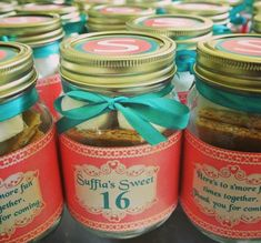 Sweet 16 Sweet Sixteen Birthday party favors by UpANotchGifts