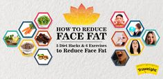 How to Reduce Face Fat? Diet Tips, Diet Hacks, Reduce Face Fat, Weight Loss Tips, Lose Weight, Pcos, Exercises, Dieting Tips, Exercise Routines