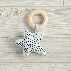 Celestial Baby Rattle (Star)