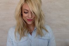 How To Get Perfect Long Bob Curls. Get Ready With Me