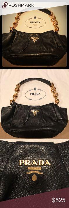 8f65dc22dcd4 Prada satchel | Prada handbags, Gray color and Soft leather