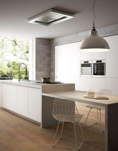 Browse photos of kitchen designs. Discover inspiration for your kitchen remodel or upgrade with ideas for storage, organization, layout and decor. Diy Kitchen Furniture, Modern Kitchen Cabinets, Kitchen Worktop, Modern Kitchen Design, Kitchen Flooring, Kitchen Interior, New Kitchen, Kitchen Decor, Kitchen Utensils Store