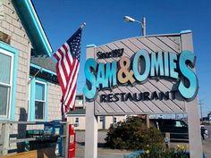 Sam  Omies Restaurant in Nag's Head - since 1937! Classic.