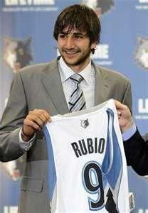 Ricky Rubio... baby!