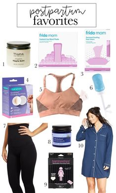 Postpartum Favorites