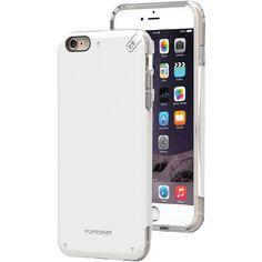 PURE GEAR 11074VRP iPhone(R) 6 Plus/6s Plus DualTek(R) PRO Case (White/Clear)