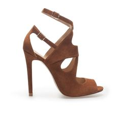 MULTI-STRAP HIGH HEEL SANDAL - Zara Spring '13    These shoes are the ultimate shoes for an occasion which simply calls for sitting down. These shoes are not suitable for extreme lengths but will effortlessly allow you a casual-cool look with a dash of sophistication.