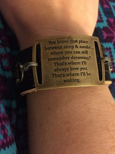 PETER PAN BRACELET Peter & Wendy Quotes Antique by novemberrains #peterpan #neverneverland #disney https://www.etsy.com/listing/490417684/peter-pan-bracelet-peter-wendy-quotes https://www.etsy.com