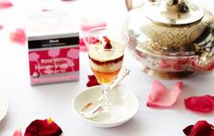 Dilmah Rose with French Vanilla Devonshire Tea   Dilmah Real High Tea www.dilmah.nl