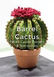 Resultado de imagen de felt cactus pattern