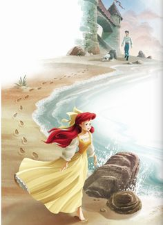 Ariel (Personally, I think this dress suits her better than the pink one they put her in.)