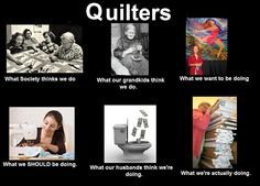 for my quilting buddies....