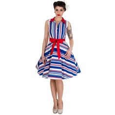 Dolly & Dotty produce vintage inspired clothing - dresses, skirts, tops and accessories, for a perfect pinup rockabilly look. UK sizes 6 to plus Dresses Uk, Dress Outfits, Fashion Dresses, Cute Outfits, Dresses For Work, Rockabilly Mode, Rockabilly Looks, Retro Shirts, Vintage Shirts