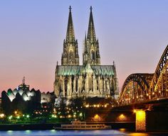 The Cologne Cathedral - Travel tips for Cologne: http://www.ytravelblog.com/what-to-do-in-cologne-germany/