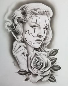 Girl Face Tattoo, Girl Face Drawing, Girl Tattoos, Face Tattoos, Chicano Drawings, Chicano Art, Tattoo Drawings, Tattoo Ink, Chicano Style Tattoo