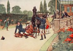 Black Beauty Cecil Aldin Rare Vintage REPRODUCTION Print #10 of 18, Sizes A5,A4,5R High Quality Glossy Paper (Frame,wall hanging) by RareVintagePrints on Etsy