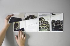 Say What Studio, In Situ. A collection of folding leaflets revolving around European architecture.Photographs by Kim Holtermand.